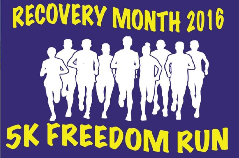 5K Recovery Run National Recovery Month 2016