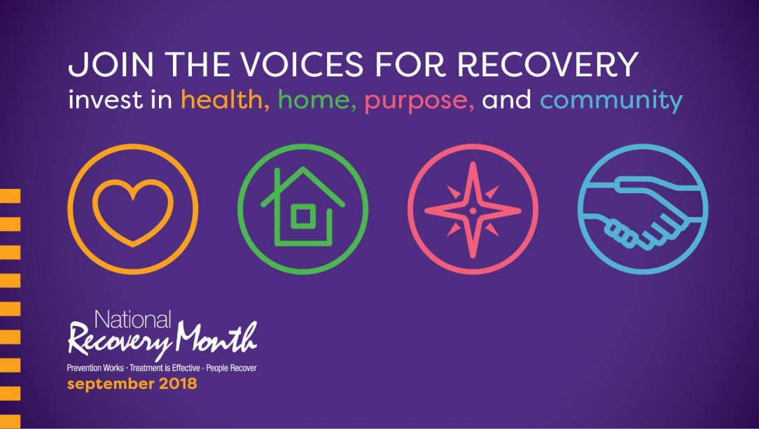 Recovery Month 2018: Join the Voices for Recovery.