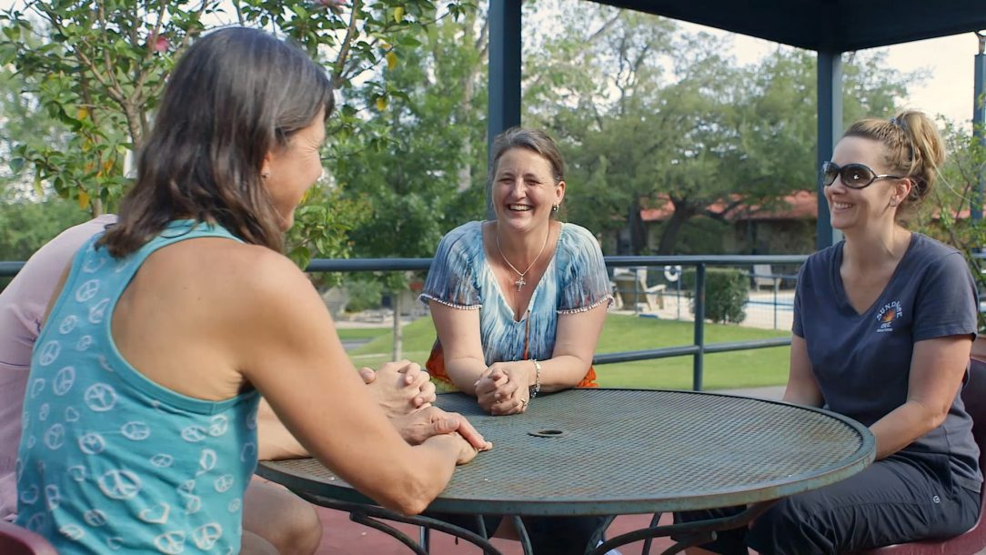 La Hacienda provides an informal setting for treatment, but has a well-defined program of treatment.
