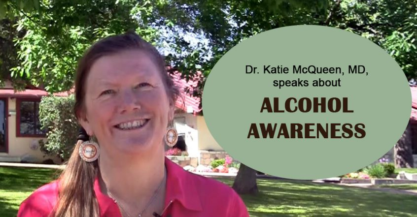 Dr. Katie McQueen talks about alcohol awareness